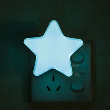 Star Night Light Plug-in Wall Decoration Lamp Children's Room Sleep EU/US Plug