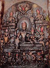 BT12077 Stone image of shiva parvati kumbeshwore patan        India