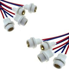 10 Pcs 12V 24V T10 W5W Light Bulb Socket Holder Soft Rubber - For Cars or Bikes