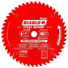 "FREUD 165MM 6-1/2"" 6 1/2"" 48T CIRCULAR SAW BLADE D0648F STEEL CUTTING BLADE"