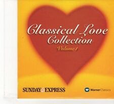 (FR245) Sunday Express Presents: Classical Love Collection, Vol. 1 - 2003 CD