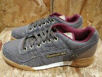 Reebok Workout plus X PAQ trainers sneakers brown size UK 7