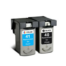 PG 40 CL 41 Ink Cartridges Compatible For Canon PIXMA IP1180 IP1200 IP1300 2PK