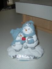Snowbuddies #1 Teacher/Snowman/Figurine/Christmas Gift.
