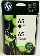 New Genuine HP 65 Black Color Ink Cartridges Deskjet 2622 2635 3730 Envy 5010