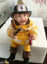 KEEPER FIREFIGHTERS 1424S Shenandoah Designs signed by ARTIST POET AND FOUNDER