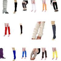 Women Fashion Knee High Leg Socks Winter Knit Crochet Warmer Legging