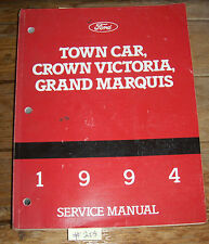 FORD 1994 Town Car, Crown Victoria, Grand Marquis SERVICE MANUAL        Lot #205