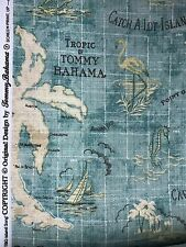 Tommy Bahama island song surf couch potato tbo outdoor print fabric by the yard