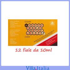 Lozione per capelli anticaduta alla pappa reale 12 fiale da 10ml Royal Jelly