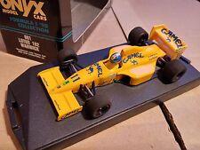 Onyx 081 Lotus 102 F1 Die Cast Modelo Auto De Carreras Racing Derek Warwick Camel 1:43