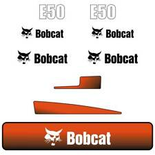 E50 DECALS Stickers, Bobcat E50 Repro Decal Kit Mini Excavator