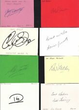 Signed card by ALEX FORSYTH the 1972-78 MANCHESTER UNITED Footballer