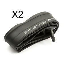 2 x Inner Tubes 26'' 26 Inch 1.75 - 1.95 Mountain Bike Bicycle Schradar Valve