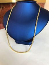 14k gold 2mm MEN WOMEN Rolo Rope CHAIN SIZE 24' In solid gold! Stunning