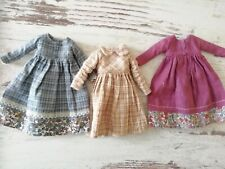 BEAUTIFUL! Hillyrages - Blythe doll dress - clothes - LOT from Etsy - 3 pcs.