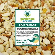 More details for gardenersdream split peanuts - fresh premium wild bird seed garden food nut feed