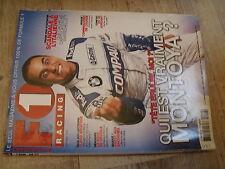 $$m Revue F1 Racing N°40 Montoya  Barrichello  Monaco  Jordan  Briatore  R202