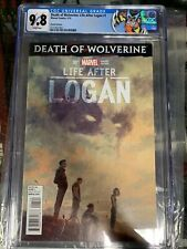 DEATH OF WOLVERINE, LIFE AFTER LOGAN #1, VARIANT EDITION, MARVEL CGC 9.8