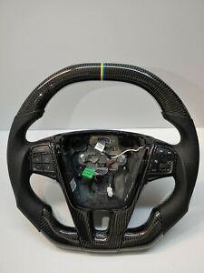 Volvo S60/V60/XC60 P3 Swedish Racing Carbon Fiber Steering Wheel Upgrade