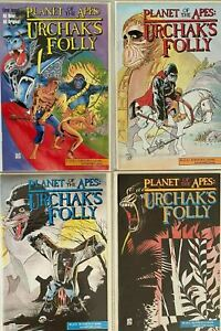 Planet of the apes set:#1-4 8.5 VF+ (1991)