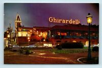 San Francisco, CA - GHIRARDELLI SQUARE SHOPPING CENTER POSTCARD - OLD CARS - G2