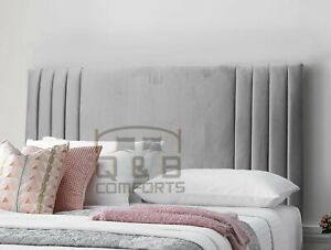 Carla headboard in Plush velvet 3ft 4ft 4ft6 5ft