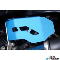 BLUE LEFT THROTTLE ALUMINIUM PROTECTION MYTECH BMW 1200 R GS (K25) '03/'12