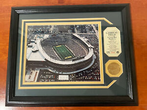 Highland Mint Packers Lambeau Rededication 24k Gold Medallion Limited Edition