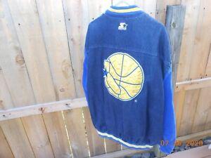 Golden State Warriors Vintage Starter Jacket NEW XXL NBA Champs