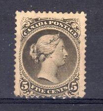 Canada 1875 5c MH