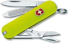 SWISS ARMY VICTORINOX 53208 CLASSIC SD STAY GLOW MULTI FUNCTION POCKET KNIFE