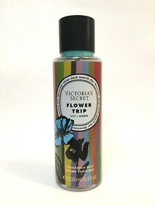 NEW 1 VICTORIA'S SECRET FLOWER TRIP FRAGRANCE BODY MIST SPRAY 8.4 OZ WATER LILY