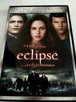 The Twilight Saga: Eclipse (DVD, 2010, 2-Disc Set, Canadian) Fast Shipping VG !