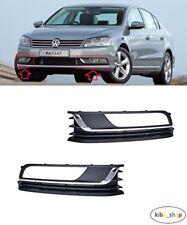 VW Passat B7 Saloon 2011-2014 parachoques trasero moldear Cromo Lado Derecho Nuevo