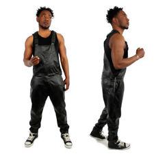 Ropa de hombre negro sintético talla XL