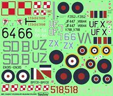 SKALSKI PLANES (P-11C, HURRICANE, SPITFIRE, MUSTANG, MiG-15) #48057 MODELMAKER
