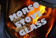 MORSO REPLACEMENT STOVE GLASS CLEANHEAT SQUIRREL, PANTHER, BADGER - ALL MODELS