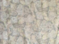 2.75 yd Cobblestone Kent Avery Cotton Quilt Fabric Gray Light Blue Landscape
