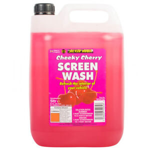 Cheeky Cherry Scent Fragranced Car Screenwash Cleaner Concentrate 5 Litre