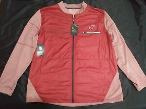 $100 Mens Sz XXL Arizona Cardinals Nike Sideline Shield Hybrid Full-Zip Jacket