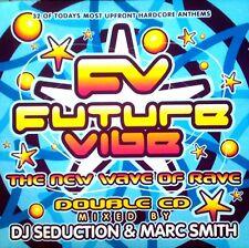 FUTURE VIBE - RARE HAPPY HARDCORE RAVE CD MIXED BY SEDUCTION & MARC SMITH CDJ DJ