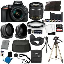 Nikon D5600 Digital Slr Camera + 18-55mm Vr 3 Lens Kit + 32Gb Best Value Kit