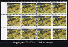 1983 - Australia - Australian Animal Definitive 1¢ Monitor Lizard - block of 12
