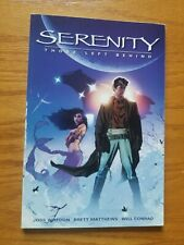 Serenity Vol 1 Those Left Behind, Graphic Novel, Joss Whedon Firefly, Tpb, 2006
