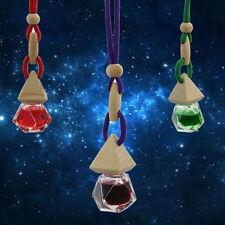 For Home Auto Car Fragrance Glass Bottle Pendant Hanging Perfume Air Freshener