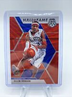 Allen Iverson 2019-20 Panini Mosaic Hall of Fame TMALL Exclusive Red Wave