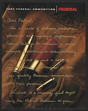 Federal Ammunition Catalog - 1995