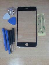 Cristal de Pantalla Digital Negro para Iphone 6 plus 5,5 +Adhesivo +Herramientas