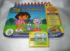 Dora to the Rescue - Leap Frog My 1st First LeapPad Preschool Learning + 19 More